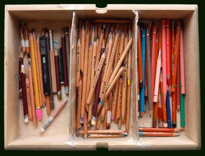 My box of pencils