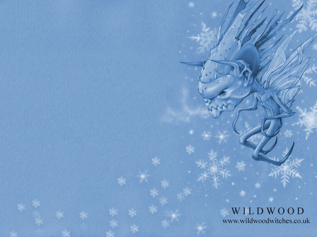 Frost Fairy Wallpaper